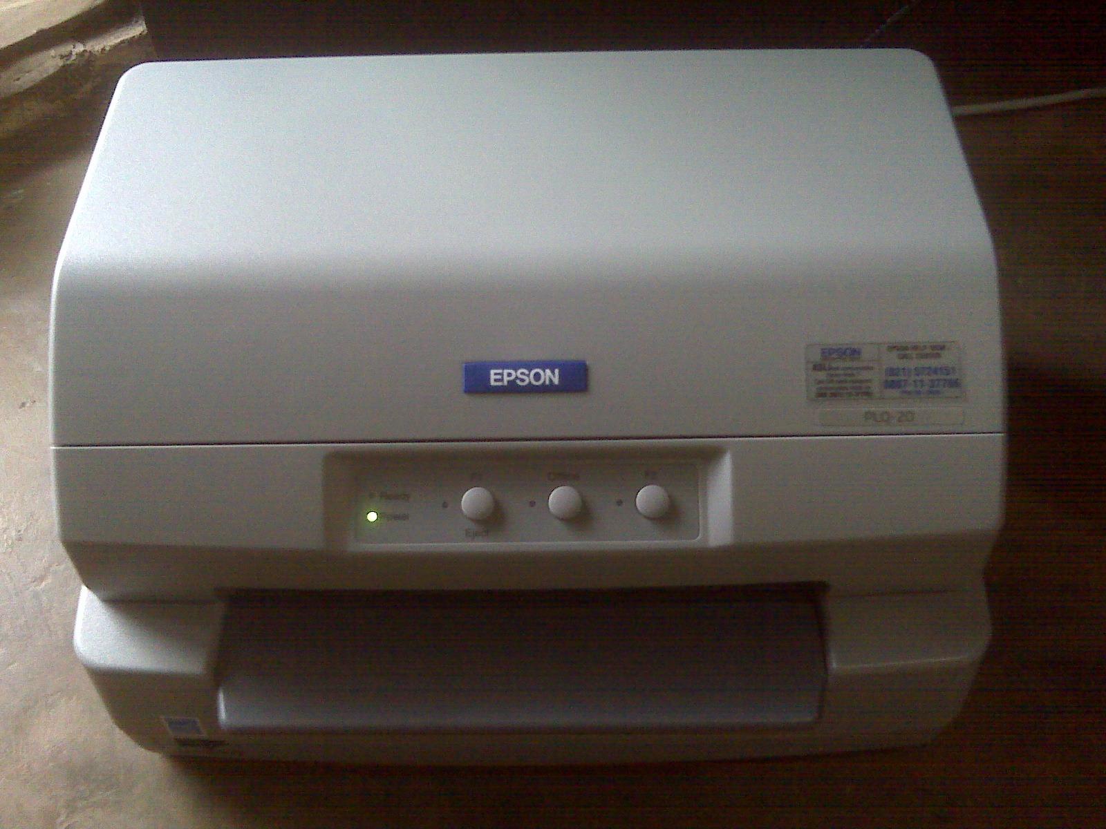 Cara Memperbaiki Printer Epson PLQ 20