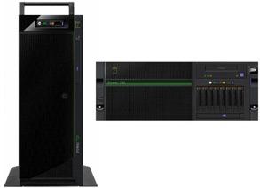 IBM power 720 rack