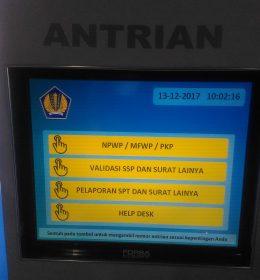 mesin antrian kantor pajak 1